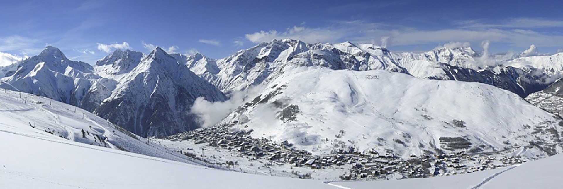 Mountain View of Les Deux Alpes